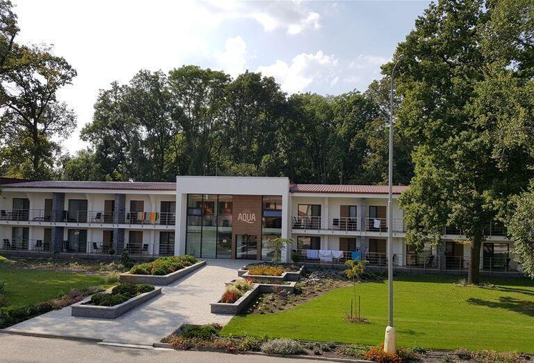 Hotel Aqua a balkónmi