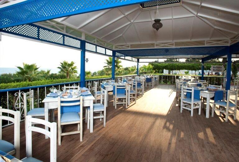 Hotel Sentido Turan Prince, Side, plážová reštaurácia