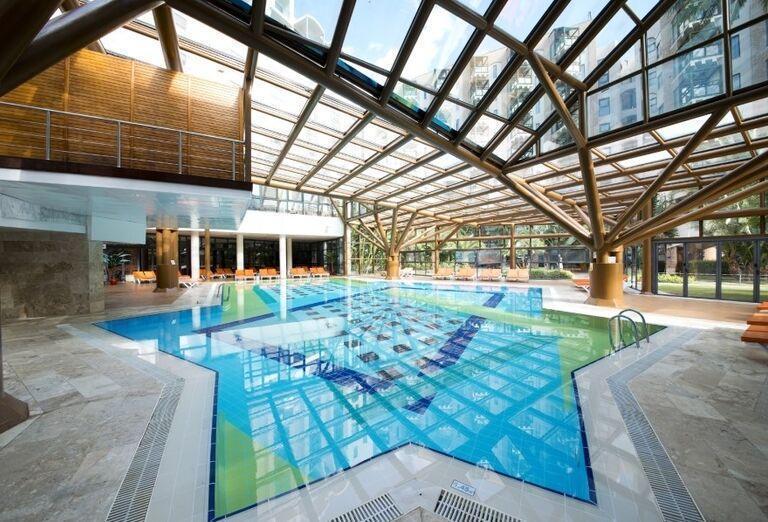 Vnútorný bazén v hoteli Limak Limra