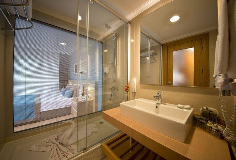 Kúpeľňa v izba hotela Limak Limra