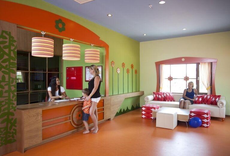 Detská recepcia pri miniklube hotela Limak Limra