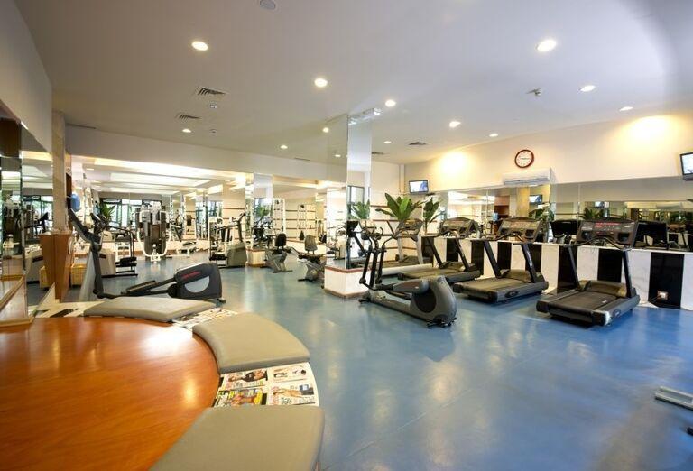 Fitness v hoteli Limak Limra