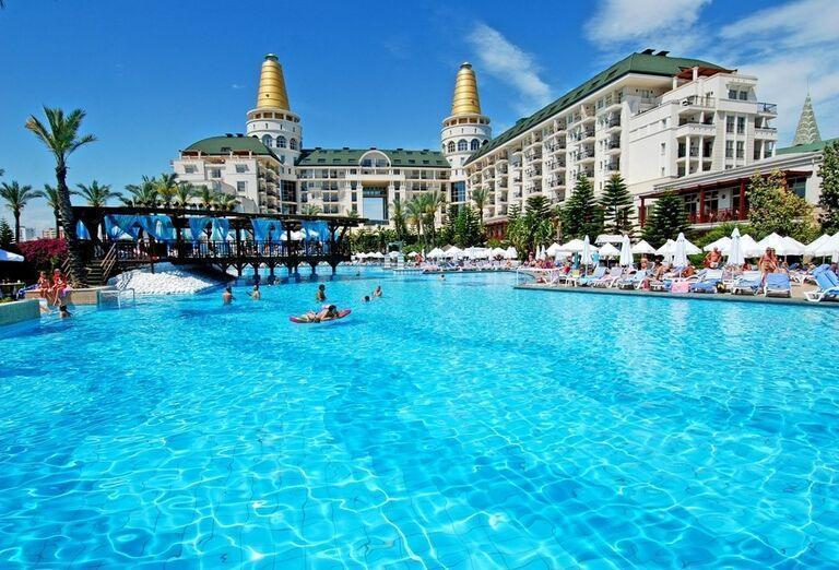 Hotel Delphin Diva, Lara, areál
