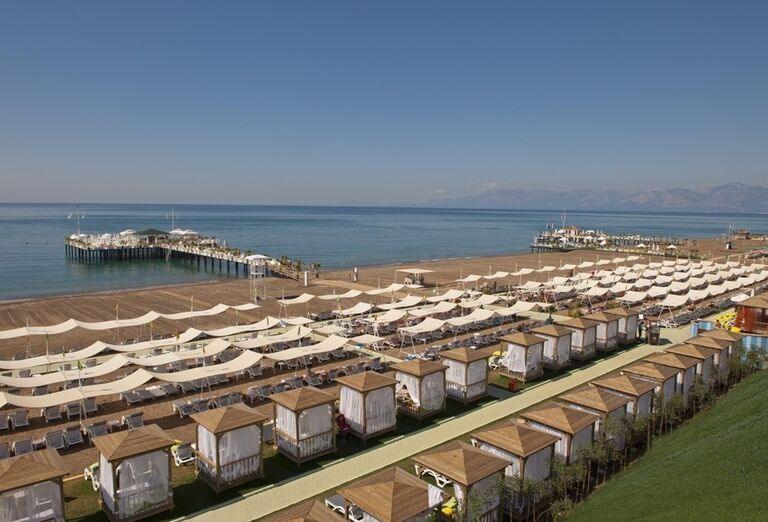 Hotel Delphin Imperial, Lara, pláž