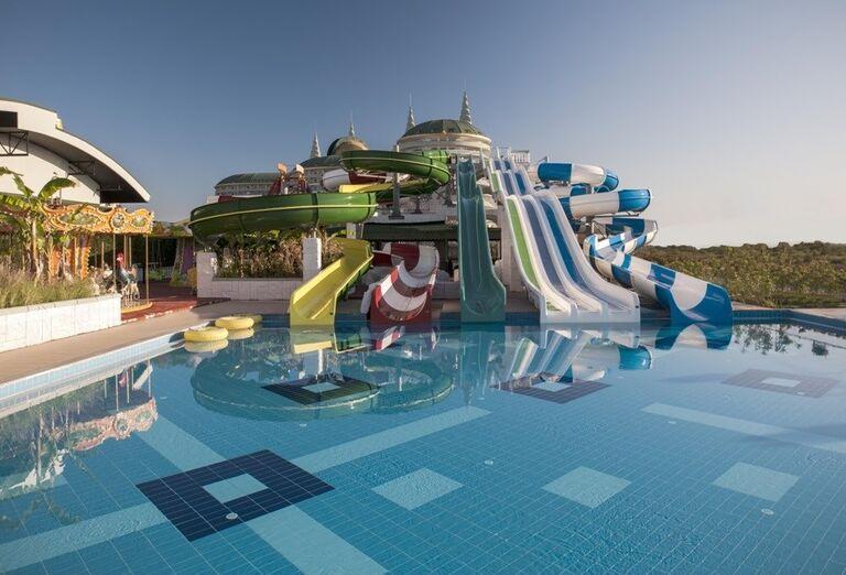 Hotel Delphin Imperial, Lara, tobogany