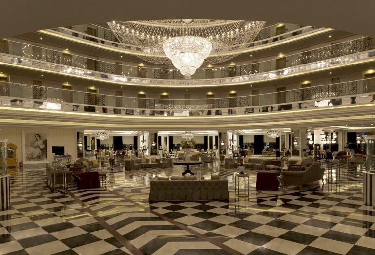 Hotel Delphin Imperial, Lara, lobby