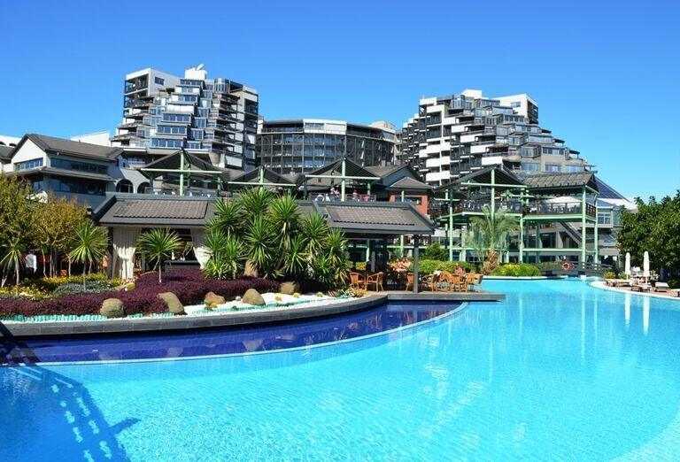 Hotel Limak Lara, Lara, pohľad od bazéna