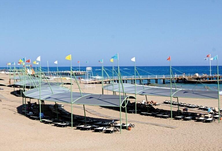 Hotel Limak Lara, Lara, pláž
