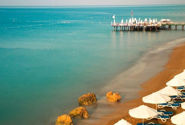 Hotel Titanic Beach Lara, Lara, pláž