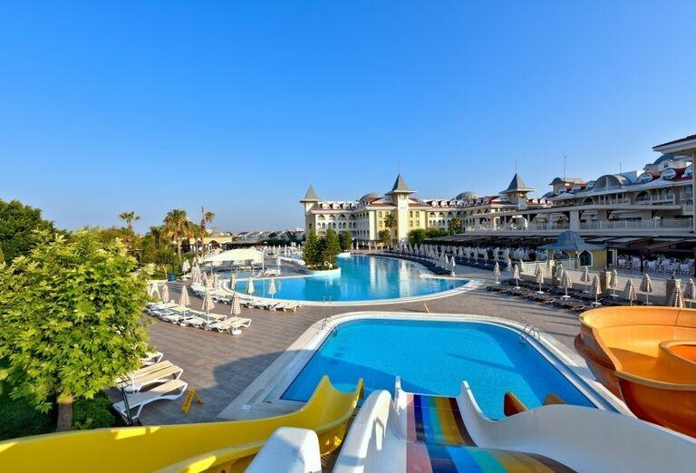 Vodný svet v hoteli Side Star Resort