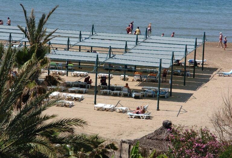 Hotel Oleander, Side, pláž