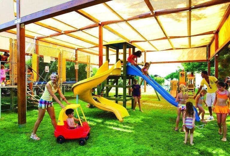 Zábava na detskom ihrisku