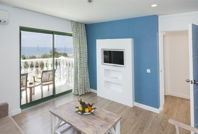 Izba s terasou v hoteli Iz Flower