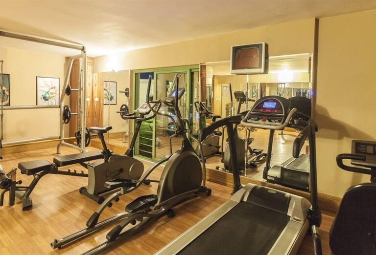Fitnes v hoteli Iz Flower