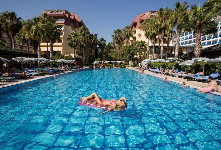Hotel Meryan, Alanya, bazén