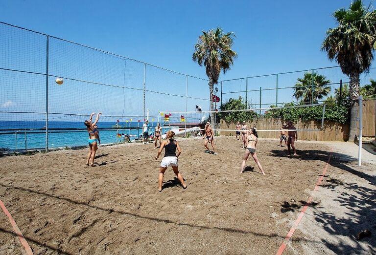 Hotel Meryan, Alanya, plážový volejbal