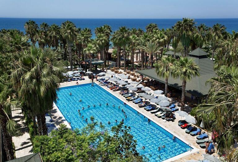 Hotel Meryan, Alanya, areál