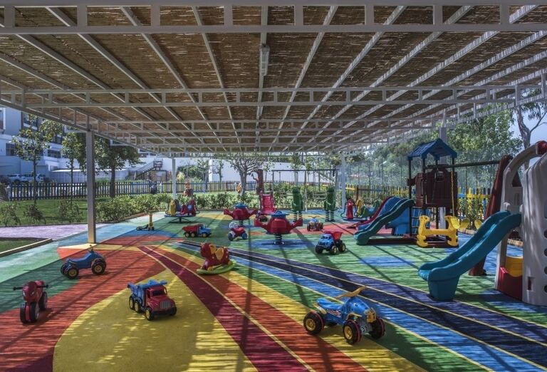 Detské ihriskov hoteli Delphine Be Grand Resort