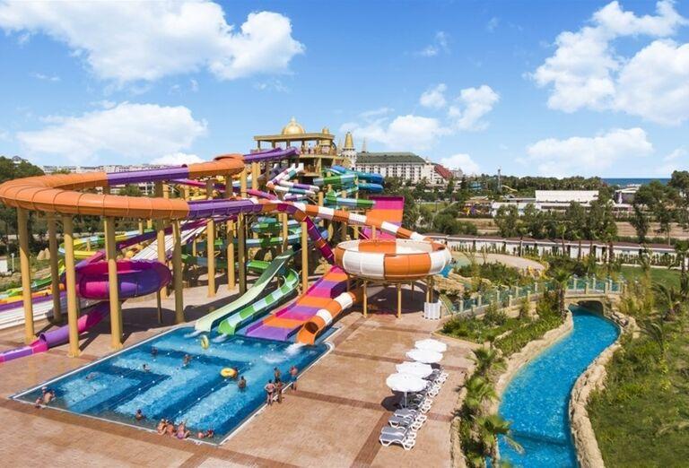 Atrakcie vodného sveta v hoteli Delphine Be Grand Resort