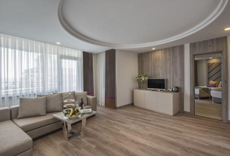 Priestranná izba v hoteli Delphine Be Grand Resort