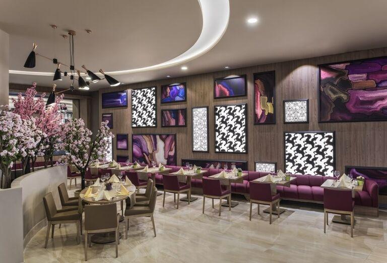 Reštaurácia v hoteli Delphine Be Grand Resort