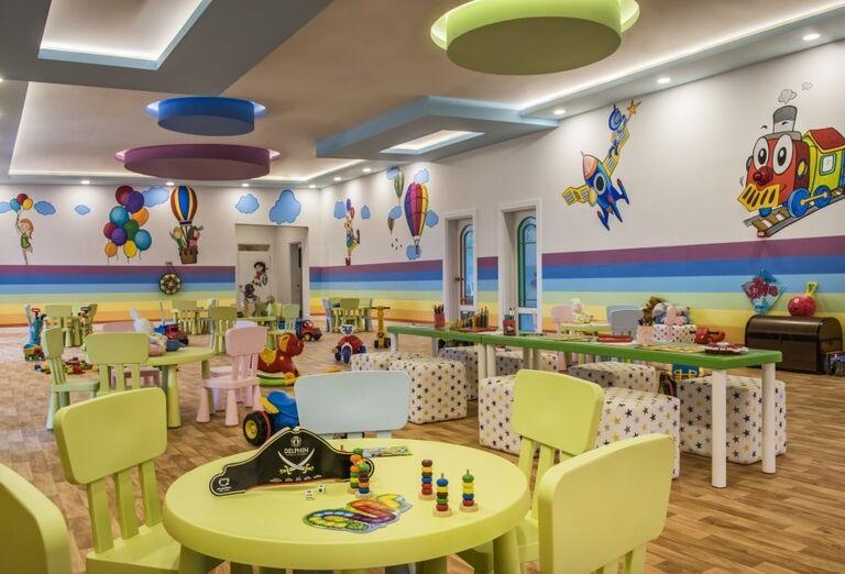 Detský kútik hotela Delphine Be Grand Resort
