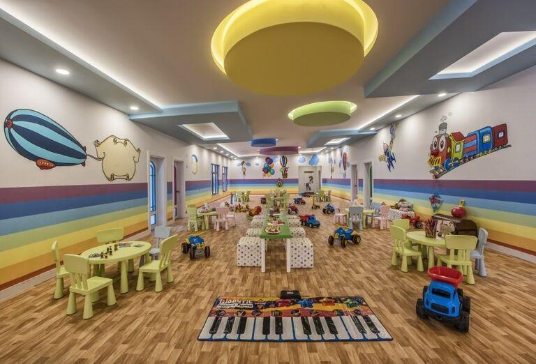 Rušný miniklub pre deti v hoteli Delphine Be Grand Resort