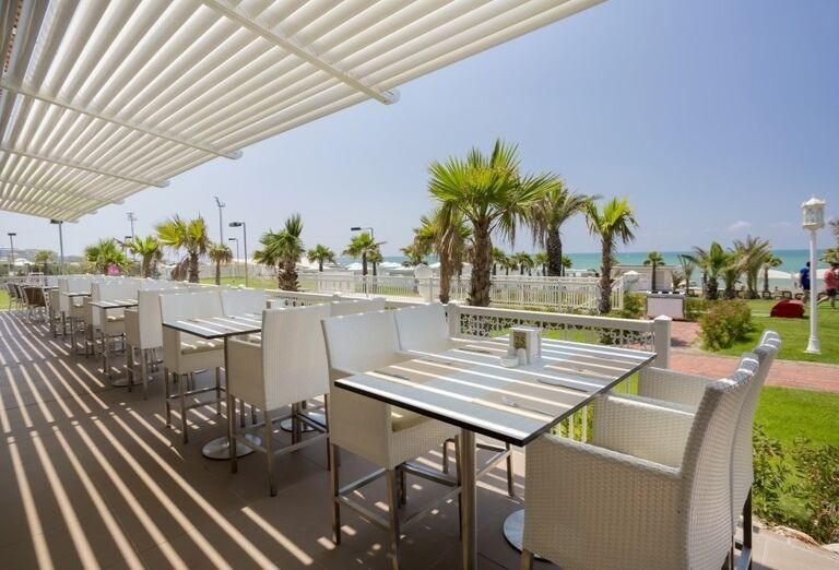 Hotel Gural Premier Belek, reštaurácia pri pláži