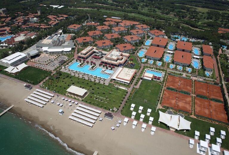 Hotel Gural Premier Belek, pláž