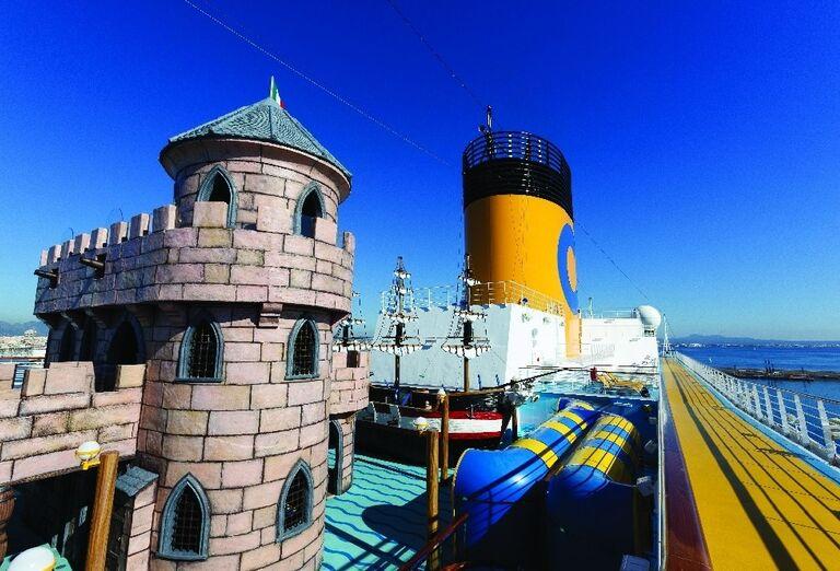 Galéria Výletná Loď Costa Diadema - Západné Stredomorie - sprievodca a Planet fun ****