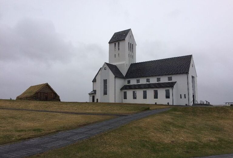 Kostol na Islande