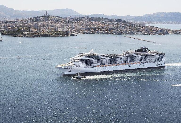 Výletná Loď MSC Divina - Malorka, Sardínia, Sicília - loď
