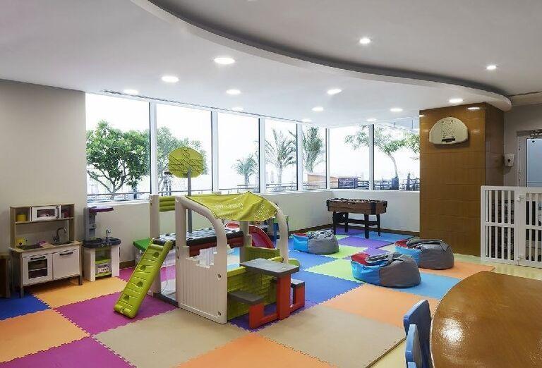 Detský kútik v hoteli Dukes Dubai