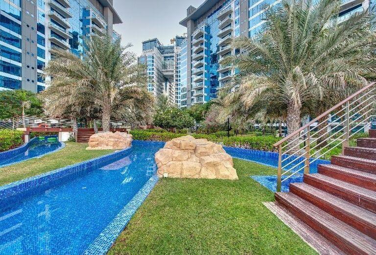 Areál hotela Dukes Dubai