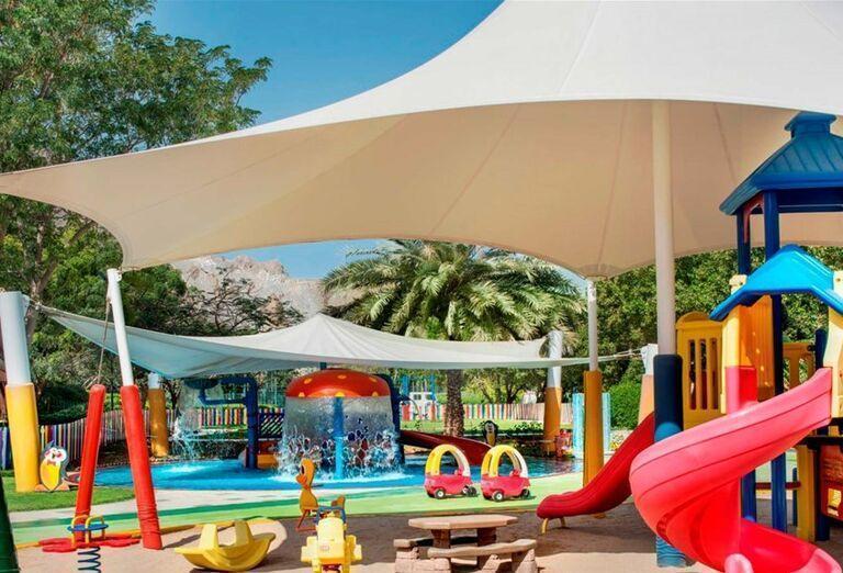 Detské atrakcie v hoteli Le Meridien Al Aqah Beach
