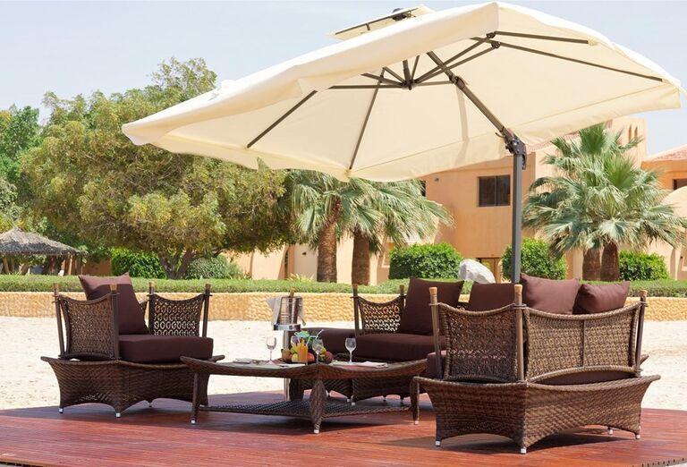 Exteriér hotela Bin Majid Beach Hotel