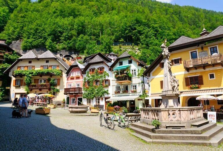 Hallstadt, poznávací zájazd, Rakúsko