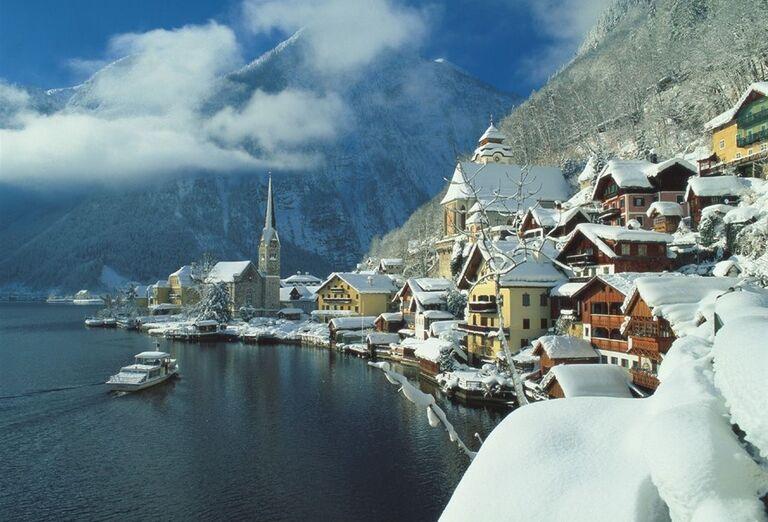 Vianočný Hallstatt, poznávací zájazd, Rakúsko