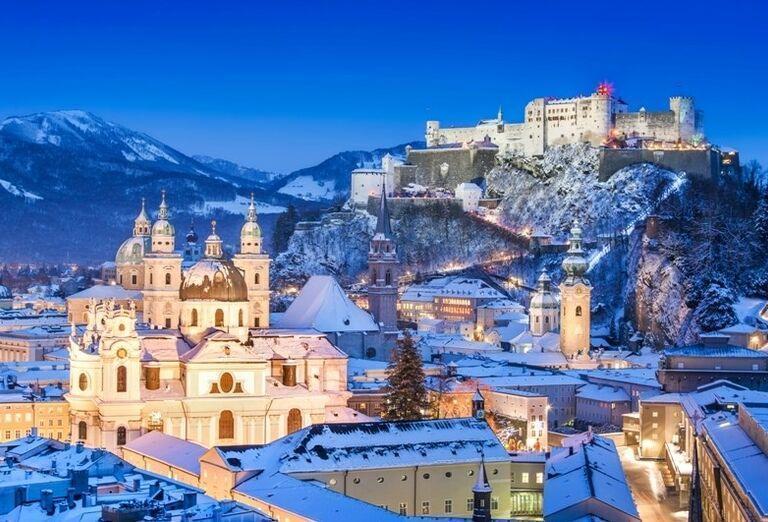 Vianočný Salzburg, poznávací zájazd, Rakúsko