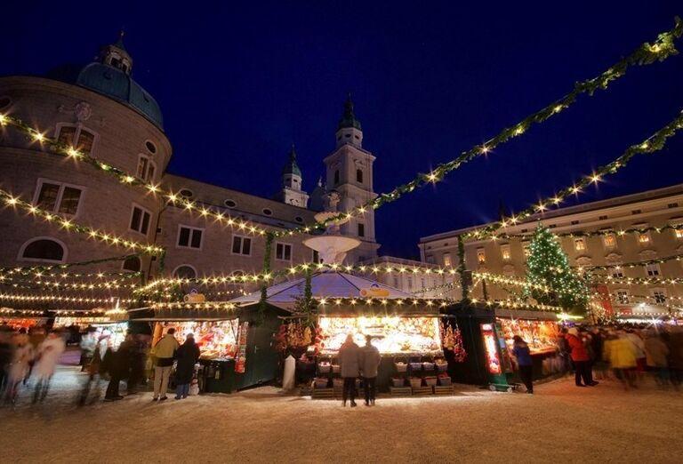 Vianočný Salzburg, poznávací zájazd Rakúsko