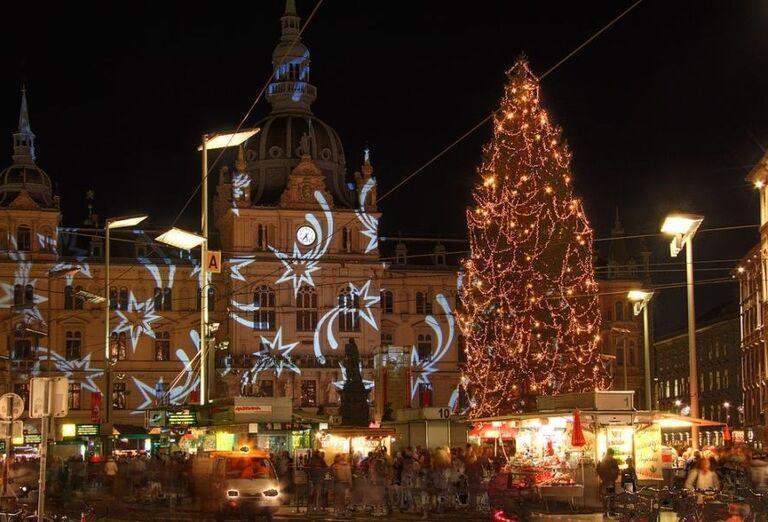 Vianočná radnoica v Grazi, poznávací zájazd, Rakúsko
