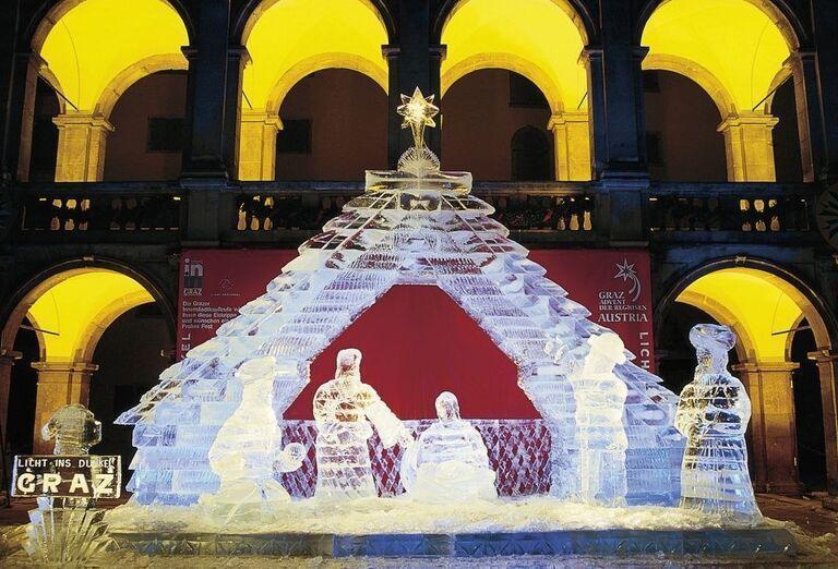 Zimná rozprávka, poznávací zájazd, Rakúsko