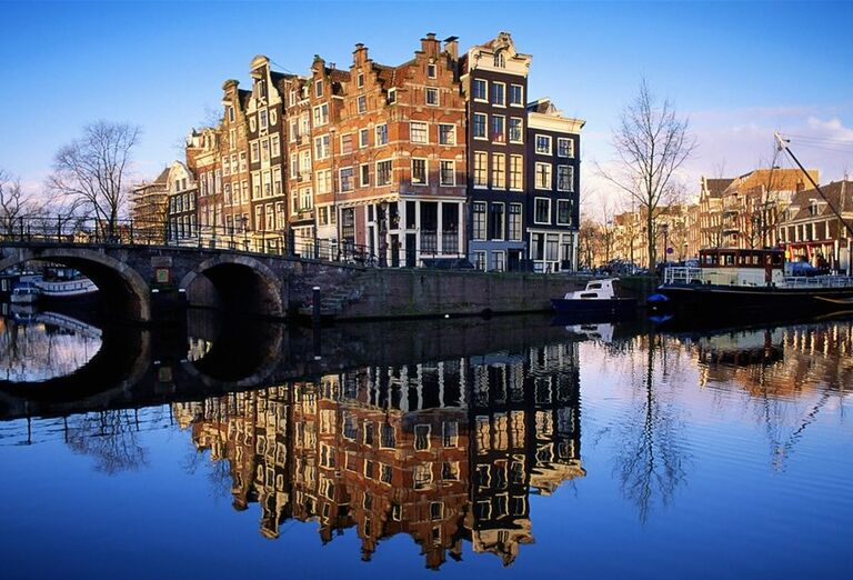 Budova v Amsterdame