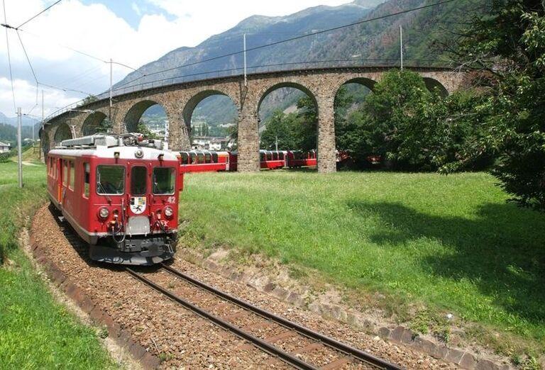 Glacier Express, Švajčiarsko
