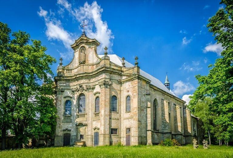 Bočná veža Kostola Najsvätejšej trojice