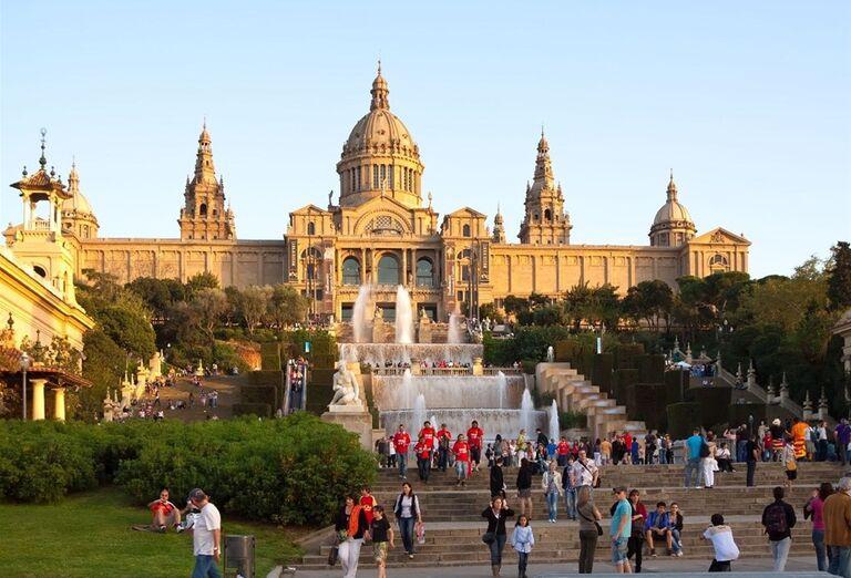 Montjuic, Barcelona, poznávací zájazd, Španielsko
