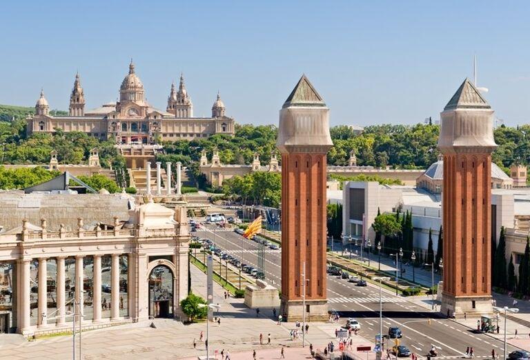 Španielske námestie, Barcelona, poznávací zájazd, Španielsko