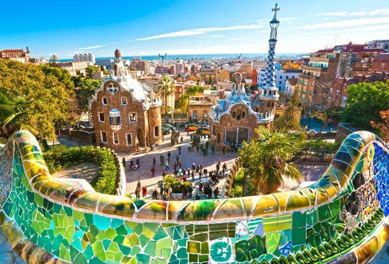 Parc Güell, Barcelona, poznávací zájazd, Španielsko