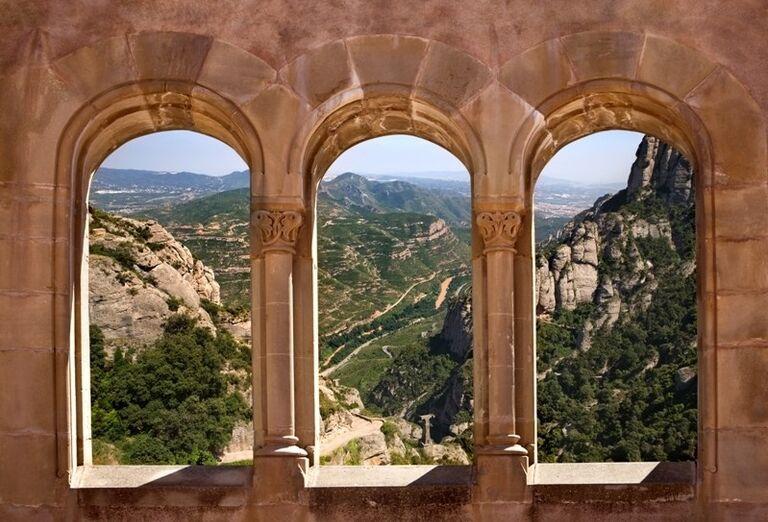 Montserrat, Katalánsko, poznávací zájazd, Španielsko