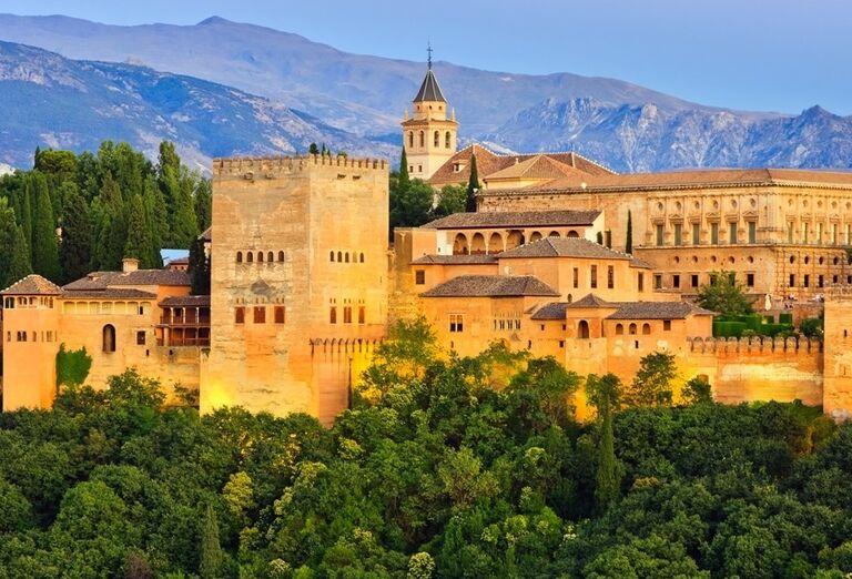 Alhambra v Andalúzii